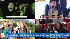 7 hilarious K-Pop idol rollercoaster reactions | http://www.allkpop.com/article/2014/09/7-hilarious-k-pop-idol-rollercoaster-reactions