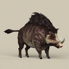 Game Ready Fantasy Boar by Game ready fantasy boar. Model has edge . Creature Concept Art, Creature Design, Fantasy Creatures, Mythical Creatures, Bugs Bunny Drawing, Dnd Orc, Godzilla Toys, Mystical Animals, Monster Concept Art