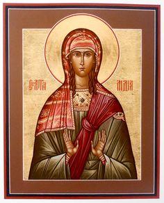 St. Lydia - May 20 Roman Church, Orthodox Christianity, Religious Icons, Orthodox Icons, Worship, Catholic, Saints, Religion, Artwork