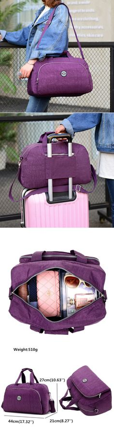 Need this! US$24.99 Women Nylon Waterproof Handbag Crossbody Bag Messenger Bag Sling Bag