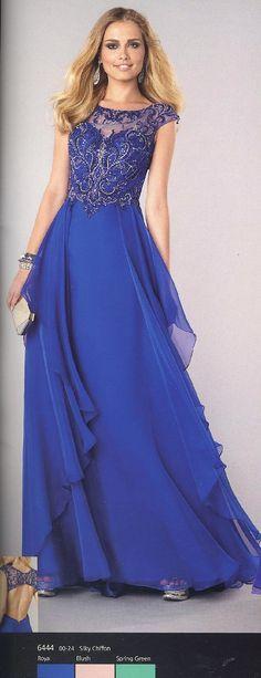 Prom Dresses Evening Dresses by Alyce Paris<BR>6444<BR>Sheer beaded scoop neckline over sweetheart bustline, fully beaded sequin bodice