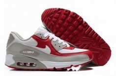 huge discount bfc57 ad576 Nike Air Max 90 Nuevo color rojo   blanco   gris http   www