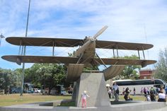 next to Torre de Belém a lovely remake of the plane which was among the first ones to cross the Atlantic :)