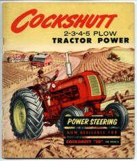 Cockshutt Tractor ad.
