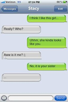Extremely funny iphone text messages. Enjoy! View the entire collection of pictures at http://www.funny-silly.com/text/