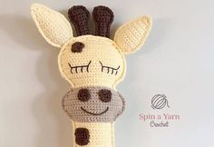 Ragdoll Giraffe Free Crochet Pattern