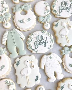 Baby Boy Cookies, Cookies For Kids, Fancy Cookies, Iced Cookies, Cute Cookies, Cupcake Cookies, Sugar Cookies, Baby Shower Cake Pops, Baby Shower Cookies