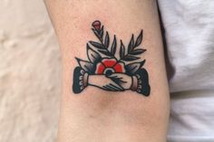 Professor Eddie flash design.   Thanks Sarah for getting tattooed.  ryan jacob smith  portland, oregon