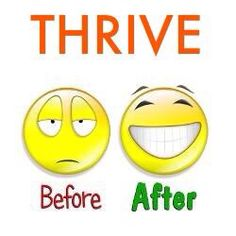 Get your happy back with THRIVE!  Check this out! Join me! www.VickiCiha.le-vel.com