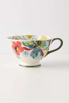 sissinghurst castle plates   ANTHROPOLOGIE - Mug!   Cups & more.....   Pinterest