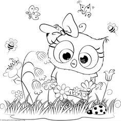 Cute Unicorn 7 Coloring Pages Dance Coloring Pages, Bee Coloring Pages, Free Adult Coloring, Doodle Coloring, Animal Coloring Pages, Free Printable Coloring Pages, Coloring Pages For Kids, Coloring Books, Art Plastique