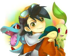 ETHAN and Hugh are my favorite male pokemon characters!