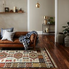 Buy John Lewis Fusion Manisa Kelim Rug from our Rugs range at John Lewis. John Lewis, Global Design, Berber Rug, Modern Bohemian, Bohemian Living, Eclectic Style, Rugs Online, Layout Design, Design Ideas