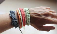 Mis obsesiones de hoy: Una de pulseras / Some bracelets