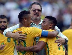 É hoje o dia: por apoteose do ouro, Brasil encara Alemanha no Maracanã #globoesporte