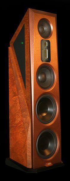 """""""Legacy Audio - Aeris ,High End Speakers"""" Horn Speakers, Tower Speakers, Diy Speakers, Stereo Speakers, Wireless Speakers, Audiophile Speakers, Speaker Amplifier, Hifi Audio, Audio Design"""