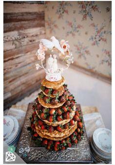 ウェディングパンケーキ