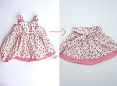 reuse your daughter's (and maybe son's) OLD clothes!!!  @Amber Jennings, you will LOVE this site!!! Recycle Old Clothes, Diy Clothes, Sewing For Kids, Baby Sewing, How To Make Clothes, Making Clothes, Sewing Blogs, Couture, Refashion