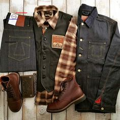 Instagram Outfits, Sexy Outfits, Trendy Outfits, Fashion Outfits, Estilo Cool, Rugged Style, Outfit Grid, Sharp Dressed Man, Gentleman Style