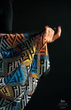 noorsaab | Lookbook 11 | Menuhin luxury silk scarf