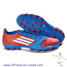 huge discount 1d168 b6cd9 Buy Blue Red White adidas F50 adizero TRX AG Leather Micoach Bundle  Football Boots Soccer Boots