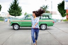 """Jeep Wagoneer (1973) –I should post that in my """"Motorboard"""" but the photo was too good."""