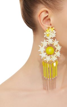 Aretes Fiesta Earrings by Mercedes Salazar | Moda Operandi