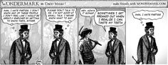 Wondermark #839; Doug is Bad at Small Talk