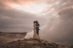 Reykjanes / Iceland / Nordica Gunnuvher Geothermal Springs #elopement #wedding #adventure #lovelybride