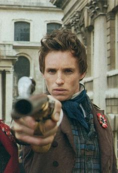 General Lamarque's Funeral - Eddie Redmayne as Marius Pontmercy in Les Miserables