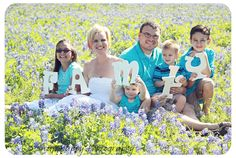 This would be an AWESOME Mother's day present for me - our annual Bluebonnet picture blown up on canvas for our home!