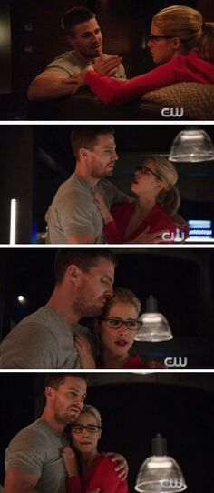 Olicity being all cute and there-for-each-other. ^.^    4.05