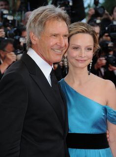 Pin for Later: L'Amour! The Hottest Cannes Couples Past and Present Harrison Ford and Calista Flockhart in 2008