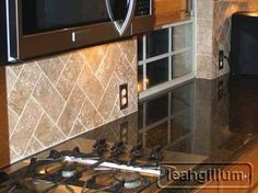 backsplash ideas uba tuba granite countertops - Google Search