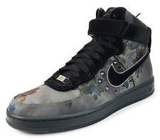 official photos abbf6 2e783 NIB NIKE 577656 001 AF1 Downtown NRG Liberty of London Spike Sneakers Shoes  11.5