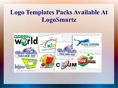 logo-templates-packs-available-at-logo-smartz by Anny Marker via Slideshare