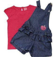 Moda Infantil Feminina Molde 63 Ideas Baby Outfits, Little Girl Dresses, Kids Outfits, Girls Dresses, Toddler Fashion, Kids Fashion, Little White Dresses, Kind Mode, Baby Dress