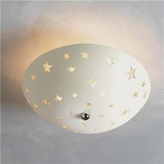starry night ceiling light! You could probably make something like this out of clay