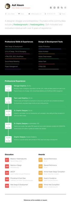 Today we are giving away an awesome free one page web resume template with you all. If you're looking for a neat design to make a simple one page resume, then you've come to the right place, you'll find this free resume template easy to use. Resume Template Free, Free Resume, Photoshop Web Design, One Page Resume, Marketing Professional, Design Competitions, First Page, Creative Resume, Design Development