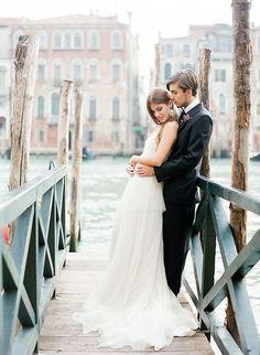 62 Romantic Venice Destination Wedding Ideas | HappyWedd.com