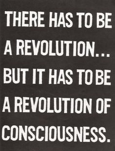 a revolution is unfolding along the path... are you part of it?