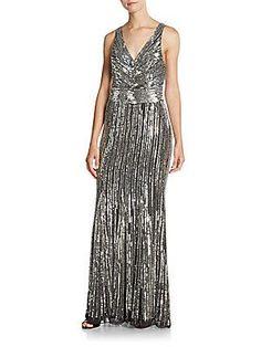 Parker Dawson Dress - Silver - Size 6
