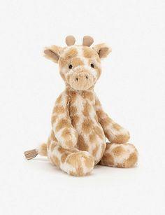 Puffles Giraffe by Jellycat - Size: Medium 32 cm - Prices: with National Cute Stuffed Animals, Baby Animals, Stuffed Giraffe, Giraffe Toy, Baby Giraffes, Giraffe Nursery, Stuffed Toys, Wild Animals, Pet Toys