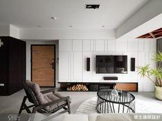 切合動線的格局規劃 一家四口的舒適品味宅-設計家 Searchome