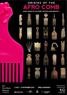 thefemaletyrant: The traditional African comb or pick has played a crucial role in the creation, maintenance, and decoration of hair-styles for both men and women... Read more...