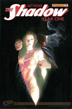 The Shadow: Year One #1. Cover by Alex Ross.
