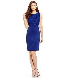 Antonio Melani Quinn Jacquard Sheath Dress #Dillards