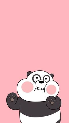 See More in Pinites Cute Panda Wallpaper, Cartoon Wallpaper Iphone, Bear Wallpaper, Cute Disney Wallpaper, Kawaii Wallpaper, Cute Wallpaper Backgrounds, Wallpaper Desktop, Girl Wallpaper, Wallpaper Quotes