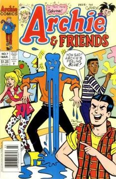 A cover gallery for the comic book Archie & Friends Archie Comics, Dc Comics, 90s Aesthetic, Unique Wall Decor, Bmx, Men Fashion, Cover, Magazines, Comic Books