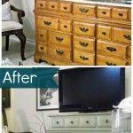 Peinture meuble bois on pinterest peinture pour meuble - Comment repeindre un bureau en bois ...